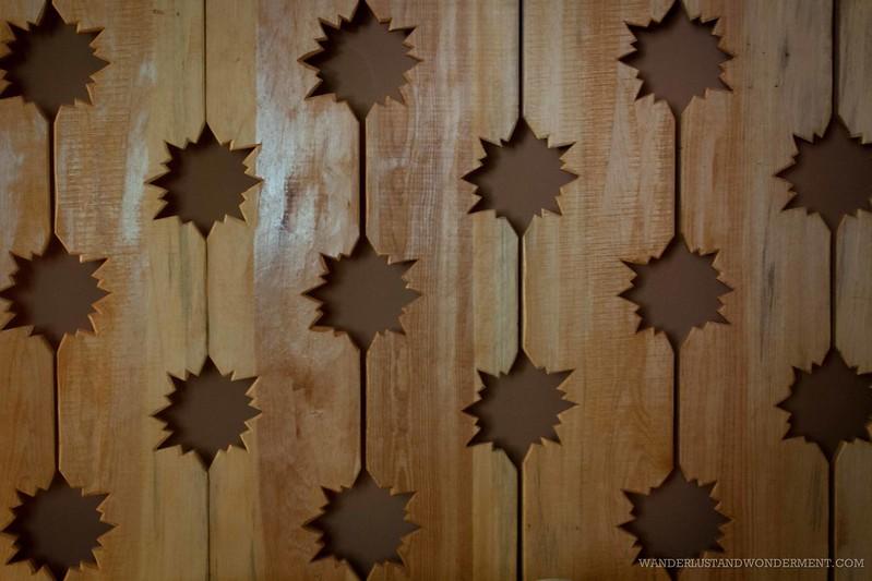 Hand made wood work