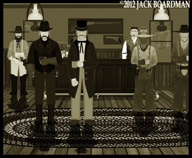Kidd went into the Saloon ©2012 Jack Boardman