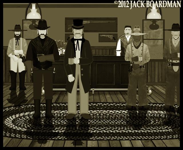 Kidd went into the Saloon ©2012 Jack Boardman