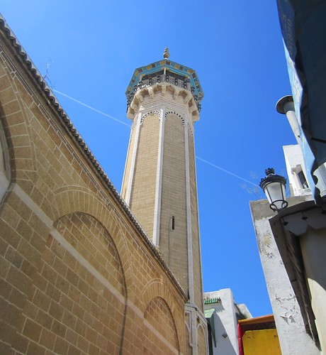 mosque in the medina of tunis