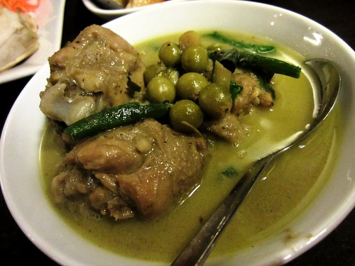 Payung green chicken curry