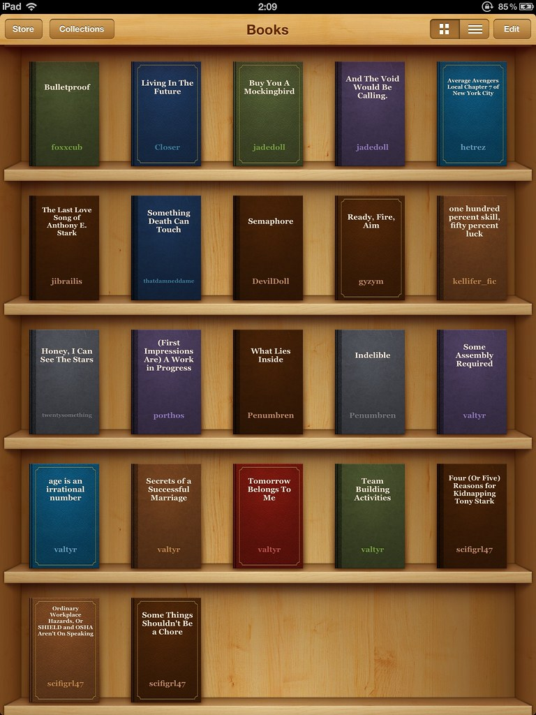 How to Store Fanfiction as Books on Your iPad