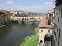 Ponte Vecchio desde la Galería de los Uffizi