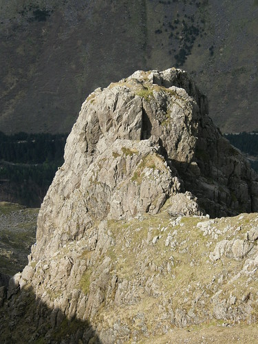 Pillar Rock from above.