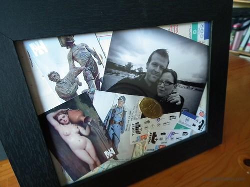 Paris Memory Frame