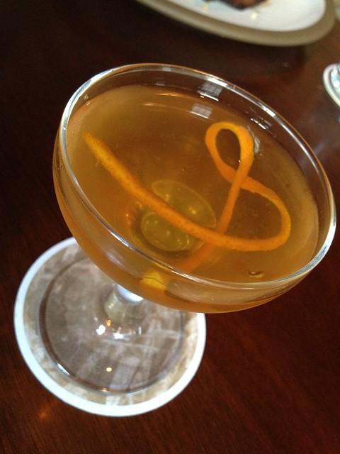 Lil' Bit cocktail - The Bar at Husk