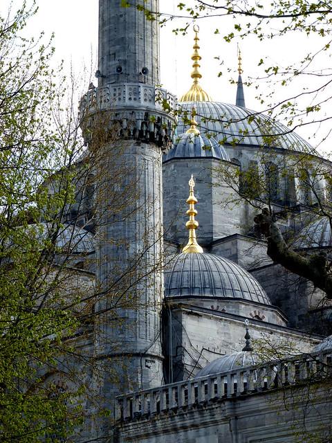 Istanbul - avril 2012 - jour 2 - 140 - Sultanahmet Camıı (Mosquée bleue)