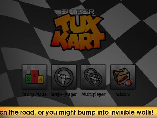 SuperTuxKart Invisible Walls Hint Mockup