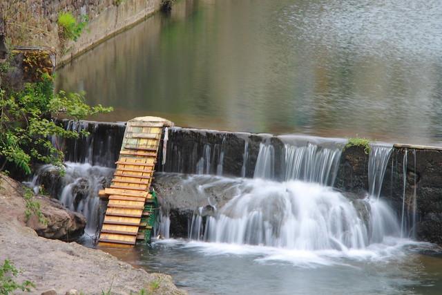 Rampa de subida en la subida en la presa  , Efecto seda #Photography  #Foto 35