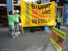 Protest: Greenpeace