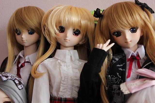 Nanoha, Aoife and Airi