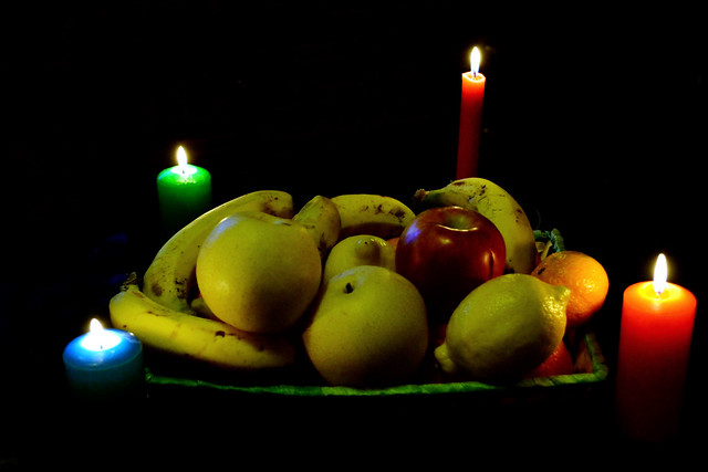 057 - Frutas y velas (H - 014)
