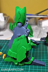 1-100 Kshatriya Neograde Version Colored Cast Resin Kit Straight Build Review (56)