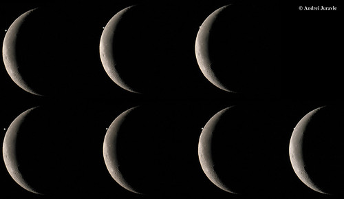 Mozaic Moon-Jupiter Occultation