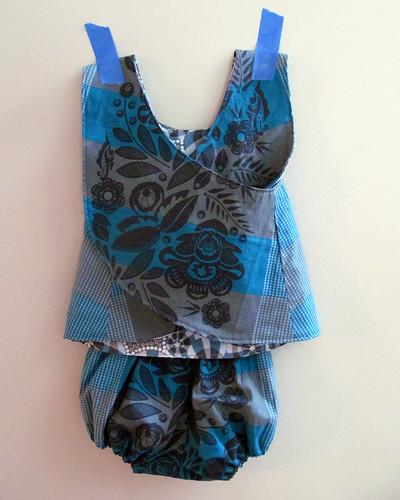 blue baby pinafore (back)