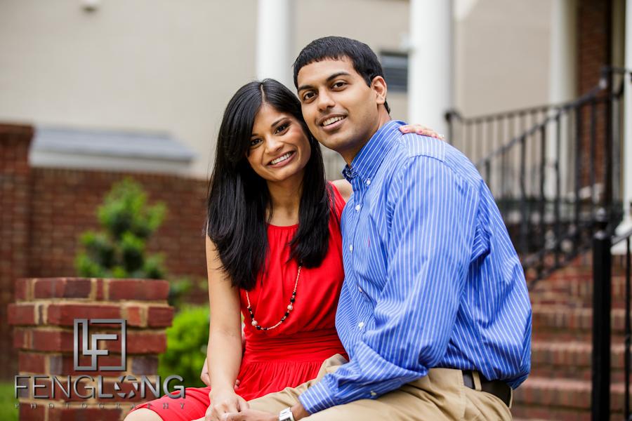 Pallavi & Arvind's Engagement Session | Greeneway Park, Tutti Frutti, Putt Putt Golf | Augusta Destination Indian Wedding Photographer