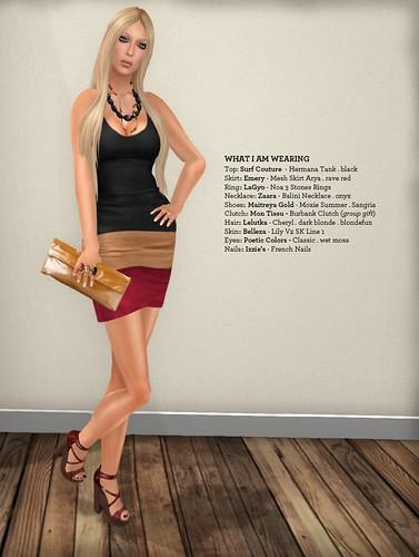 Emery Suede Skirt