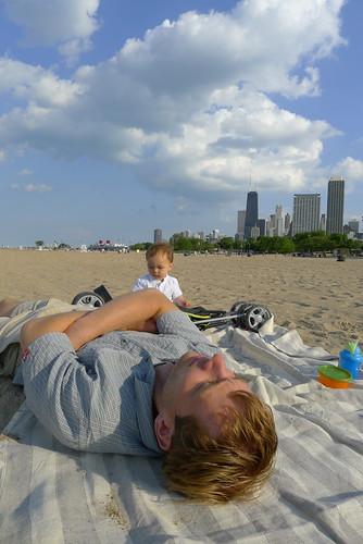 Sorting sand