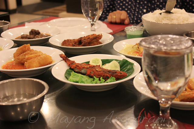 Padangnese food that costumed to general taste, friendly spiciness for newbie