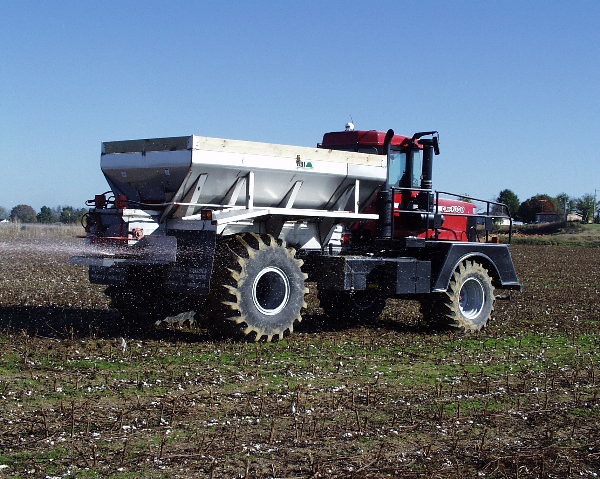 Truck Lime Mounted Spreaders Fertilizer