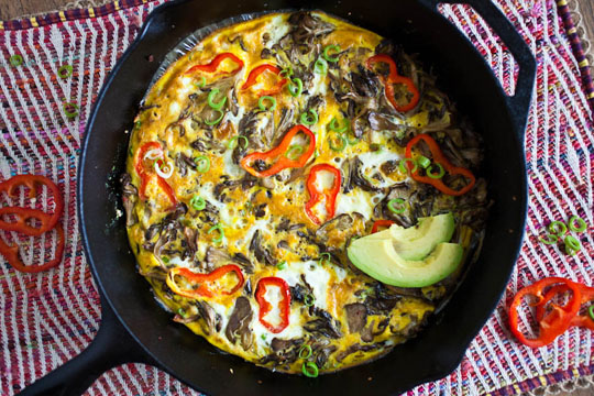 Post image for Hen of the Woods Frittata