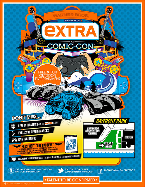 Warner Bros. Presents Extra at Comic Con