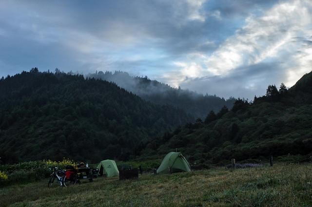 Camping near Westport