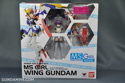 Armor Girls Project MS Girl Wing Gundam (EW Version) Review Unboxing (1)