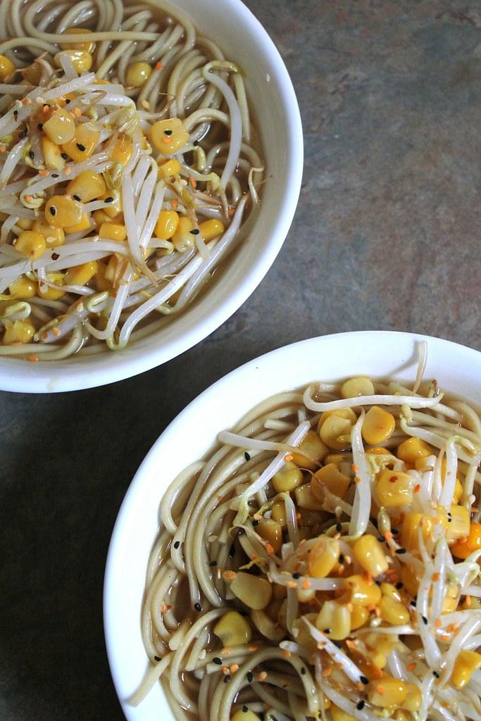 corn ramen soup