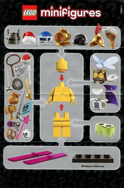 8833 Collectible Minifigures Series 8 – instrukcja