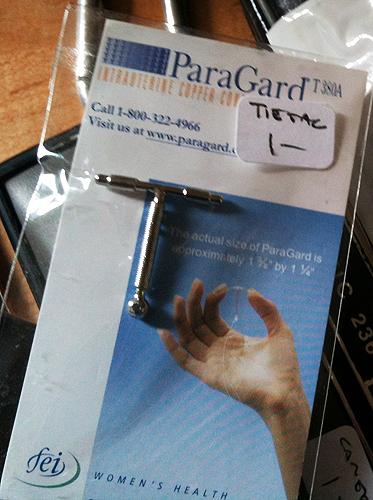 ParaGard IUD Tie Tack