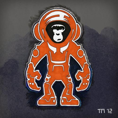 Monkey Crisis On Mars Cutout