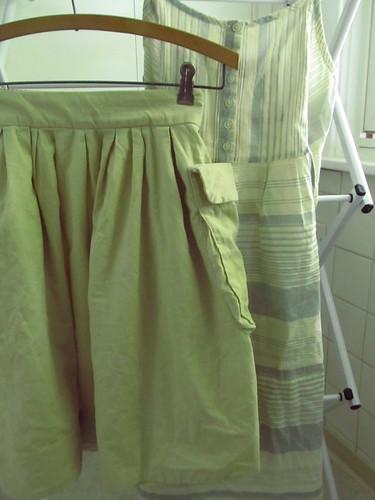 skirt + dress