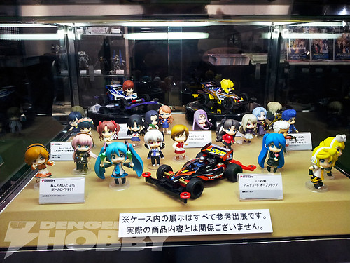 Nendoroid Petit x Mini 4WD display
