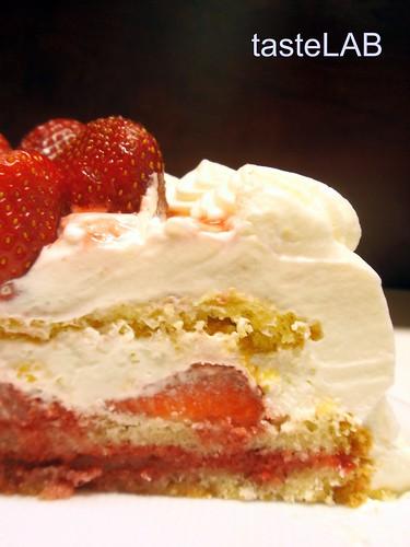 τούρτα φράουλα tL