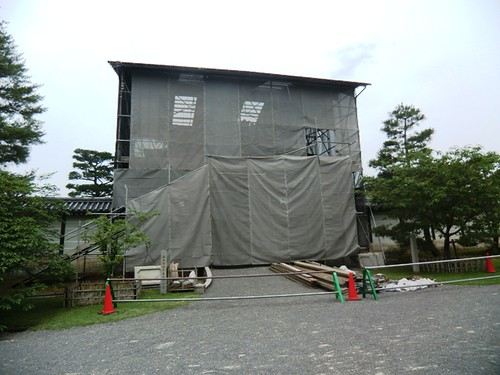 Chokushi Gate Under Repairs