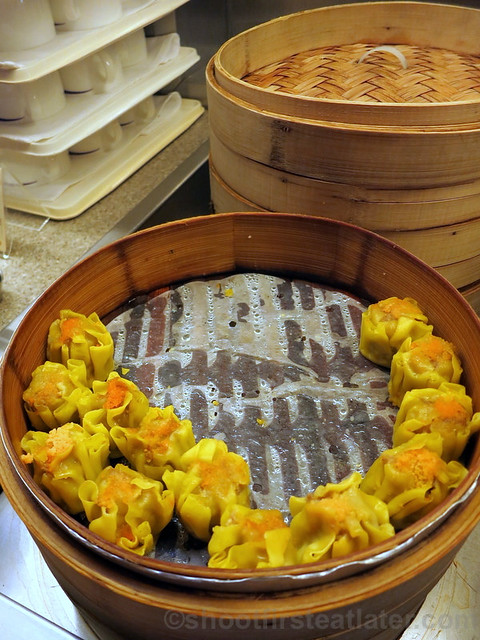 China Airlines Lounge in Taipei airport- dim sum