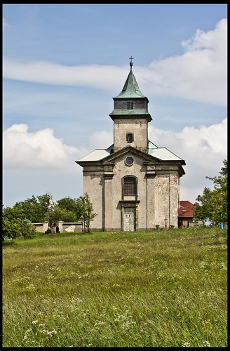 Kirche in Cínovec