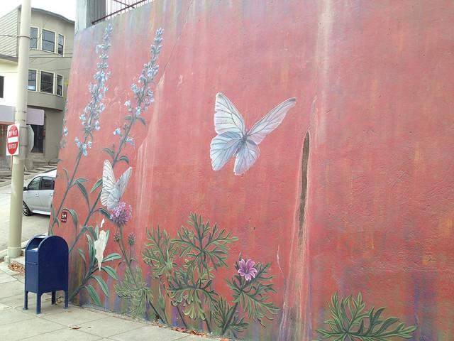 Floral mural, Church Street