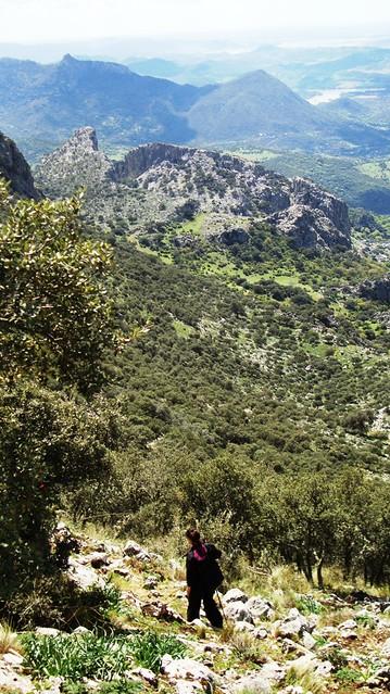 Salto del Cabrero y Sierra de la Silla