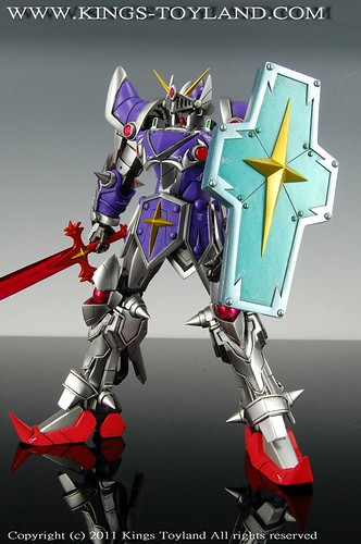 MG Knight Gundam Full Armor Mode Resin Conversion Kit (8)