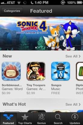 Nuevo App Store