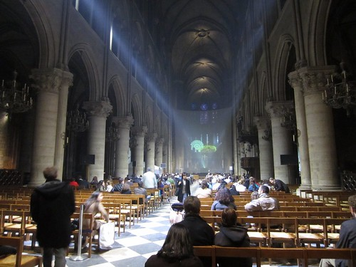 weird laser mass at notre dame