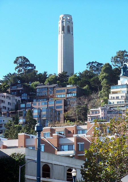 Coit Tower from the Embarcadero