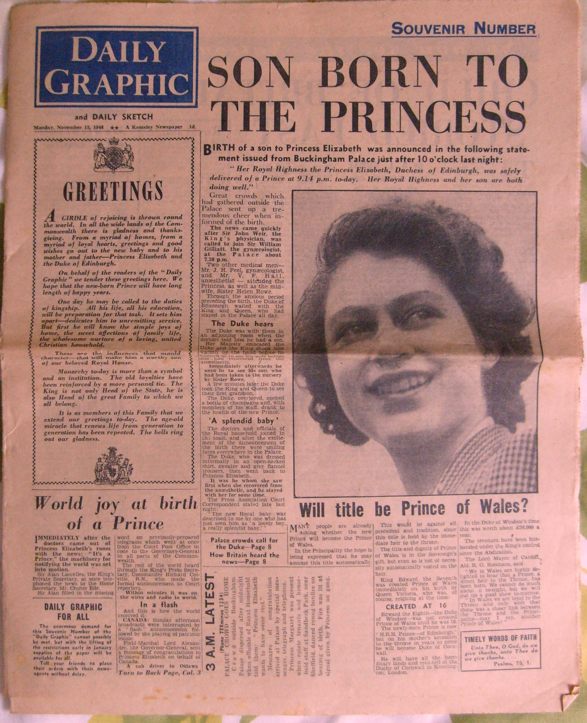 Daily Graphic - Son born to the Princess