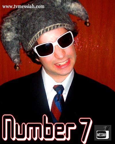 number 7 a la hat