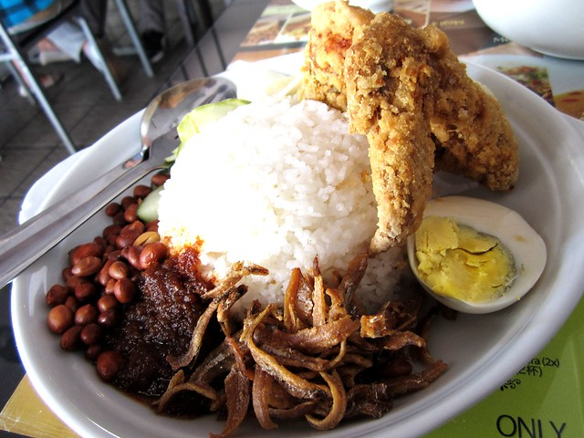 NoodleHouse nasi lemak special