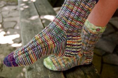 Stripe heel