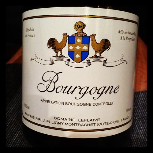 Domaine Leflaive Bourgogne Blanc 2001 (Magnum)
