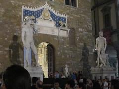 Piazza della Signoria nocturna